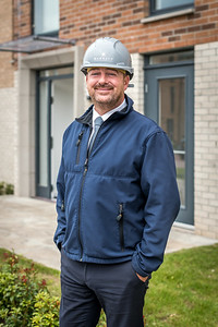 Barratt Homes - site manager photography