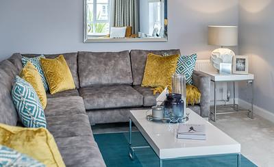 Barratt Homes - Craigston - show home interior photography