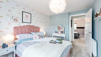 Barratt Homes - Thornton View - show home interior photography