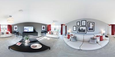 Barratt Homes - Buchanan - show home 360 tour photography