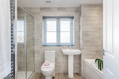 Barratt Homes - Yew Gardens - show home interior photography