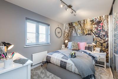 Barratt Homes - Yew Gardens - show home interior photography