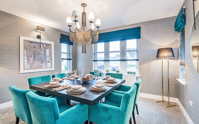 Show home photography. Cala Homes - Boclair Gait, Bearsden