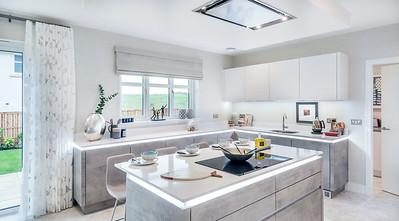 Show home photography. Cala Homes - Boclair Gait, Bearsden