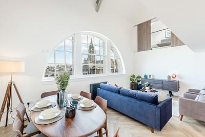 20201007 Cala Homes - Boroughmuir - Plot 74 - living dining kitchen - 004