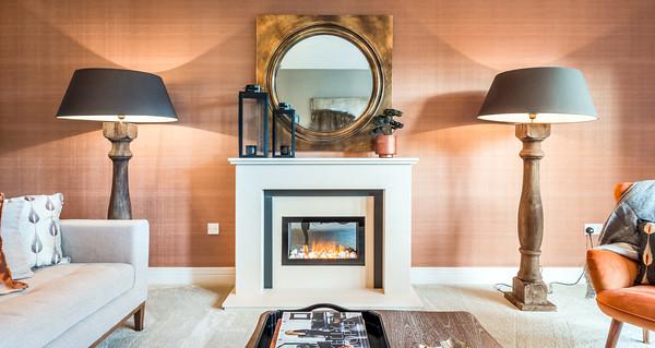 Cala Homes - Castle Bay - show home interior photography