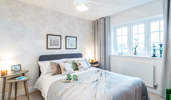 Cala Homes - Chapel Lawns - show home interior photography