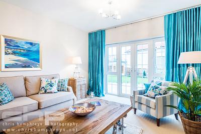 show home interior photography of Cala Homes Dalmeny Park development
