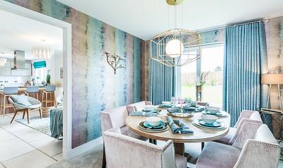 Cala Homes - Eagles Green - show home interior photography