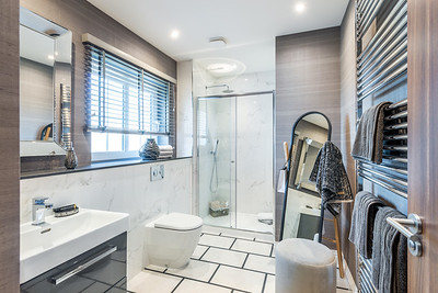 Cala Homes - Lethame Green - show home interior photography