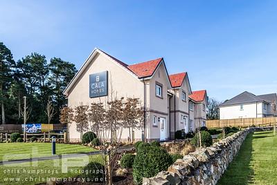 Cala Homes Milltimber Grange, Aberdeen. Exterior Photography