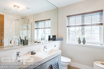 show home interior photography of Cala Homes Queens Gait development