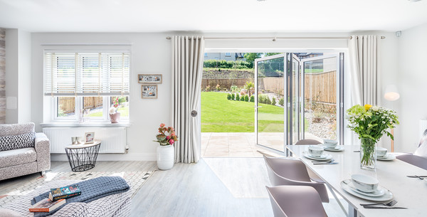 Cala Homes - Ravelrig Heights - show home interior photography