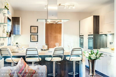 Interior architectural photography of Cala Homes Rosefield Gardens development