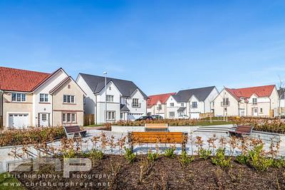 Cala Homes Rosefield Gardens, Aberdeen show home photography