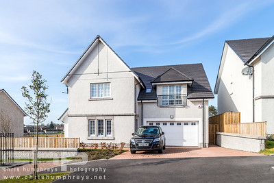 Cala Homes Rosefield Gardens, Aberdeen show home photography