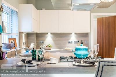 Interior show home photography