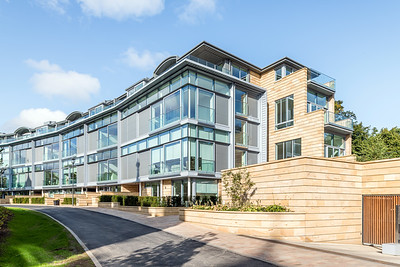Cala Homes - The Crescent - street scene architectural photography