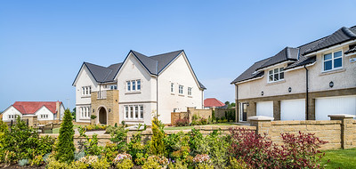 show home photography of Cala Homes Thorntonhall development