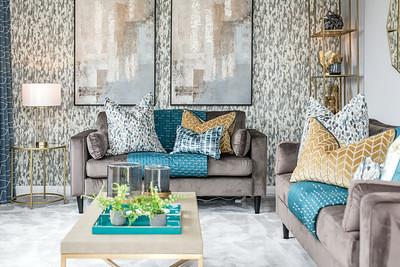 David Wilson Homes - The Brora - show home interior photography