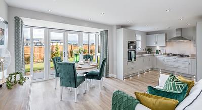 David Wilson Homes - Cammo Meadows - show home interior photography