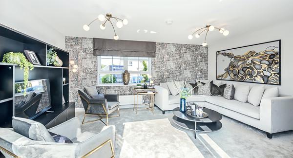 David Wilson Homes - St Clair Mews - show home interior photography