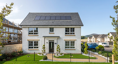 David Wilson Homes - St Clair Mews - show home architectural photography
