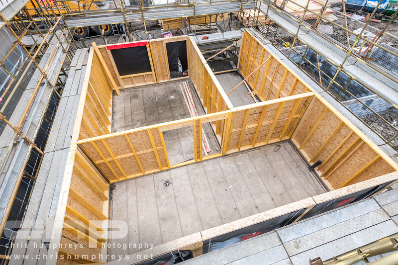 Oregon timber frame - Dunfermline - Chris Humphreys