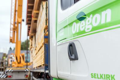 Oregon timber frame
