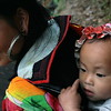 A Young H'mong Woman & Child, Sapa, Vietnam