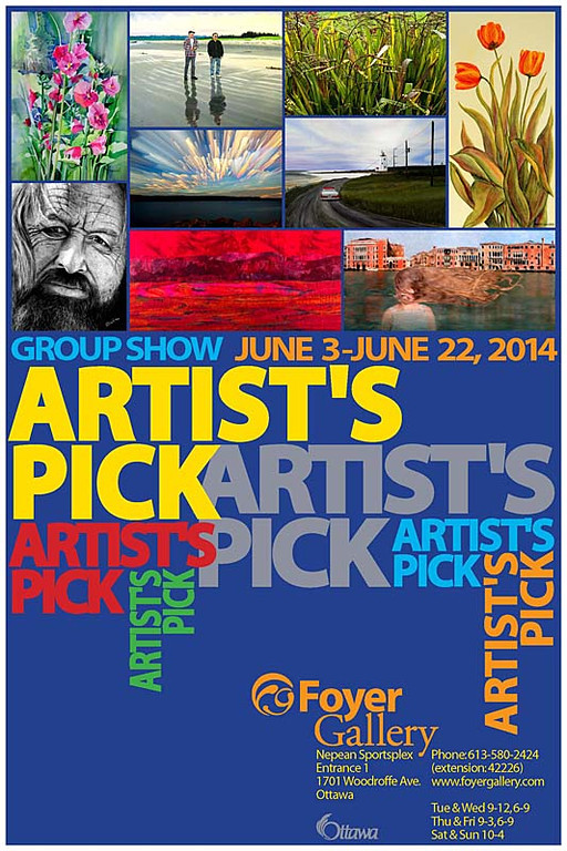 Artist's Pick - Foyer Gallery 2014