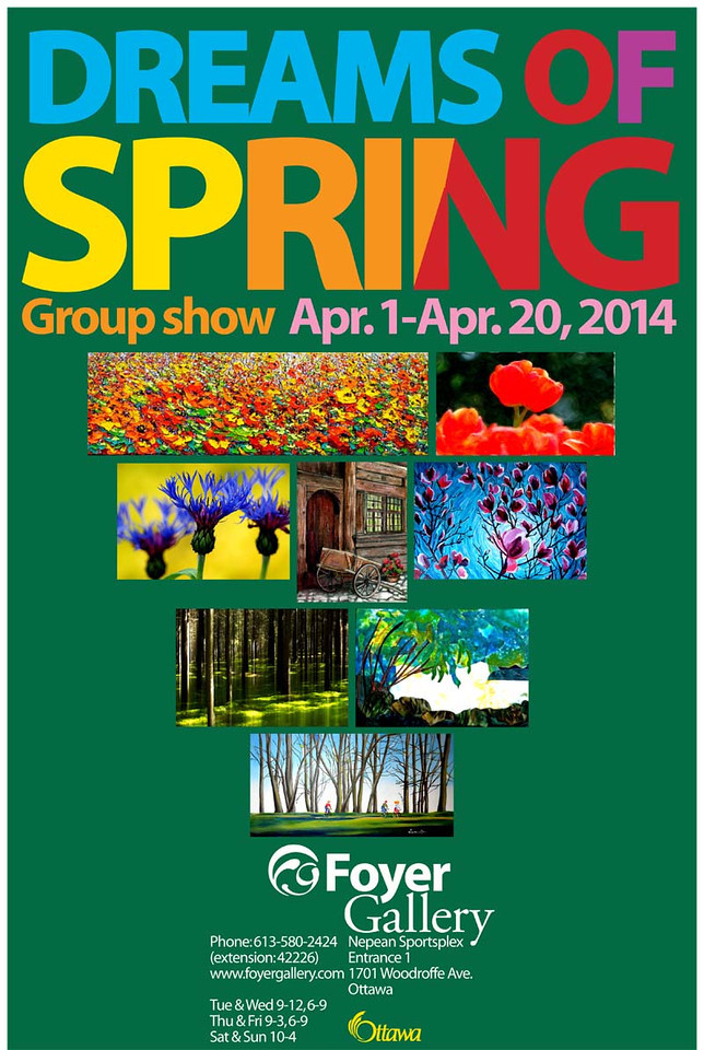 Dreams of Spring - Exhibition at the Foyer Gallery