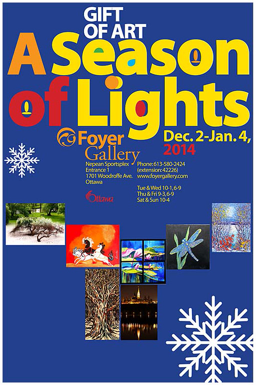 Foyer Gallery - A Season of Lights