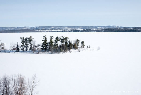 The Point in Winter - Pinhey's Point, Ontario