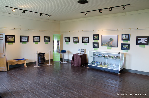 Exhibit at Pinhey's Point Heritage Property and Park