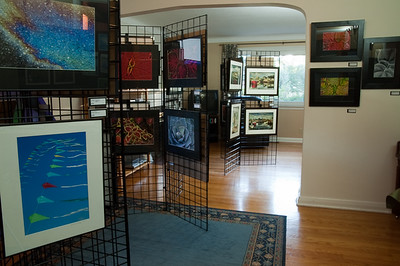 WEST 2010 display.  WEST is the West End Studio Tour which has happened annually in Ottawa for the past 15 years.  For more information visit www.westendstudiotour.ca/  Also see my blog: robhuntley.wordpress.com/2010/09/20/my-photo-gallery-duri...