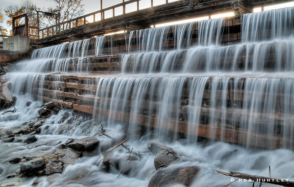 Mill Pond Dam, Waba Creek