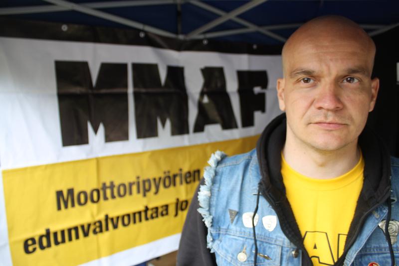 MMAF Hallituksen puheenjohtaja Jussi 'JV' Vengasaho