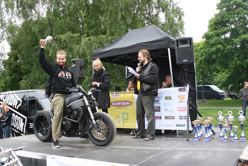 Street Fighter -luokan 3. sija: Heikki Kemppainen - Honda CBR