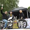 Classic Custom -luokan 2. sija: Jussi Lindgren - H-D Sportster '93
