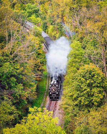 Cuyahoga Valley Steam Engine