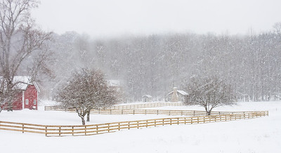 Winter at Hale Farm Cuyahoga Valley National Park
