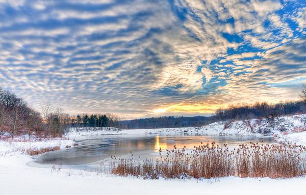 Indigo Lake Sunset<br /> Cuyahoga Valley National Park