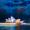 "June 2010 - Sydney Opera House, ""Lighting of the Sails"""