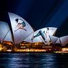 June 2012 - Sydney, Vivid festival of lights at Circular Quay