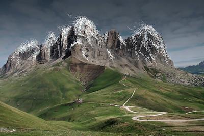 Mountain landscape | campaign Vattenfall