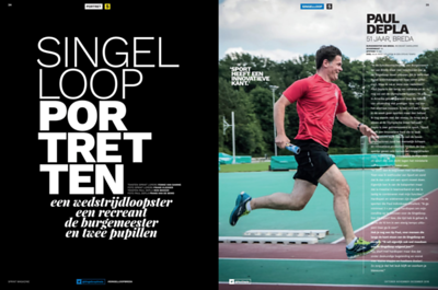 Paul Depla voor SPRINT Magazine