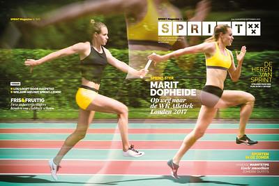 SPRINT Magazine | Special edition met Marit Dopheide