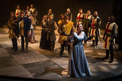 Southwest Shakespeare Company present King John in October 2014. Photo by Devon Christopher Adams
