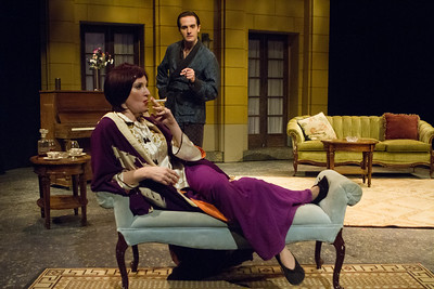 Southwest Shakespeare Company presents PRIVATE LIVES - photo by Devon Christopher Adams